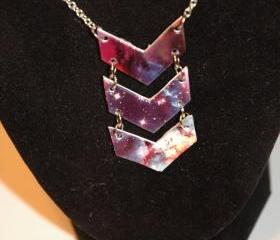 Stellar Chevron Necklace